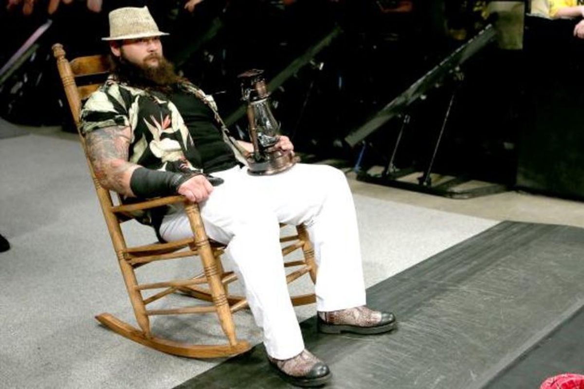 Fans Shoot During Bray Wyatt S Debut On Monday Night Raw