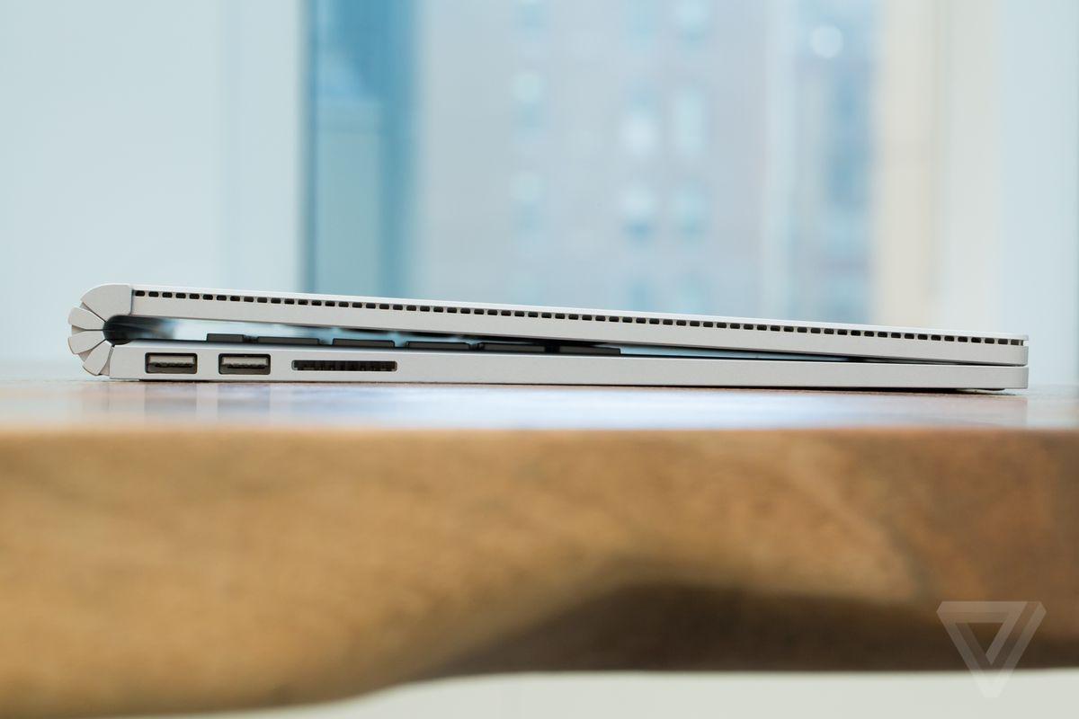 Surface Book hinge