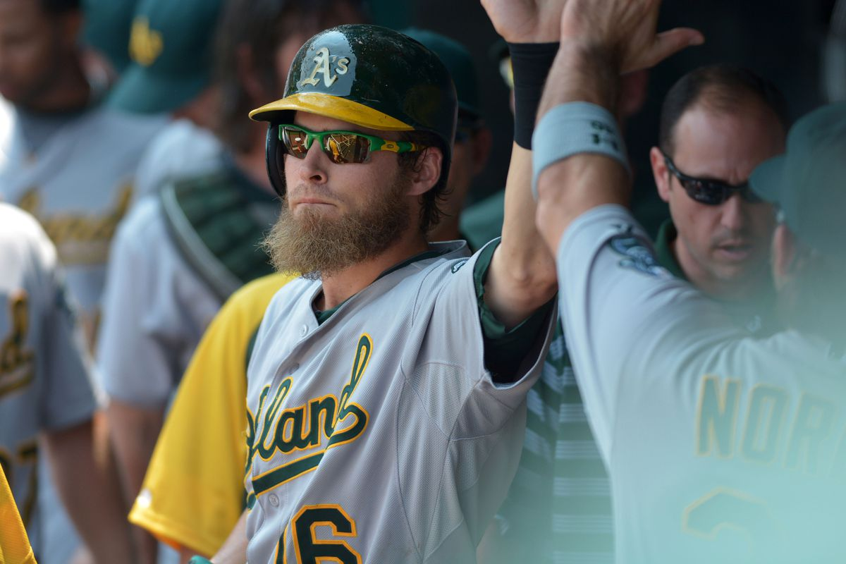 Josh Reddick will be so locked in that he will high-five you without even looking.