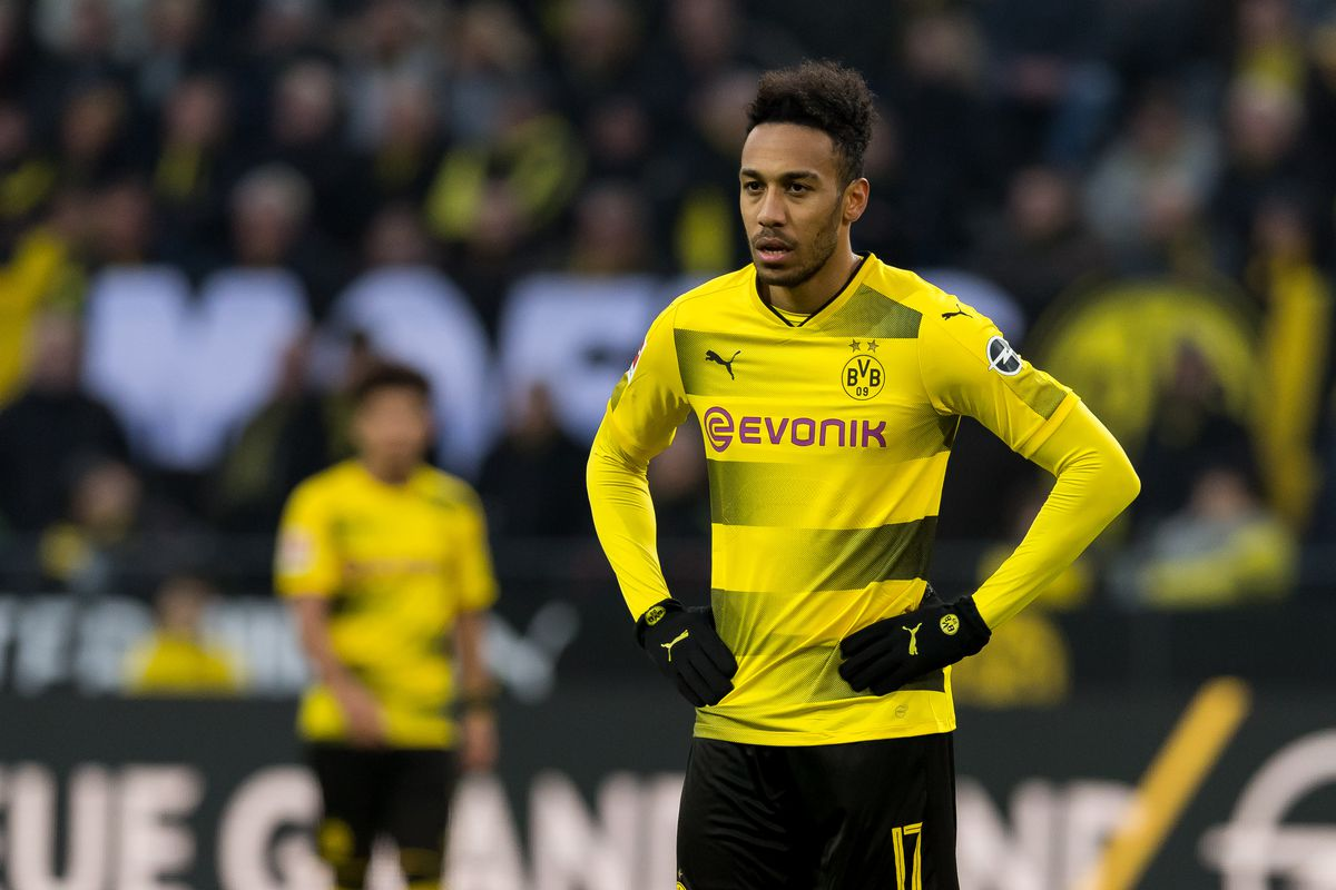 Aubameyang Picture: Official: Aubameyang Joins Arsenal From Dortmund, Paving