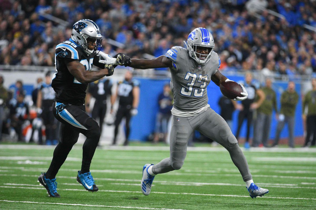 2019 fantasy football: Detroit Lions RB Kerryon Johnson is 'the kind of  pick that wins leagues' - Pride Of Detroit