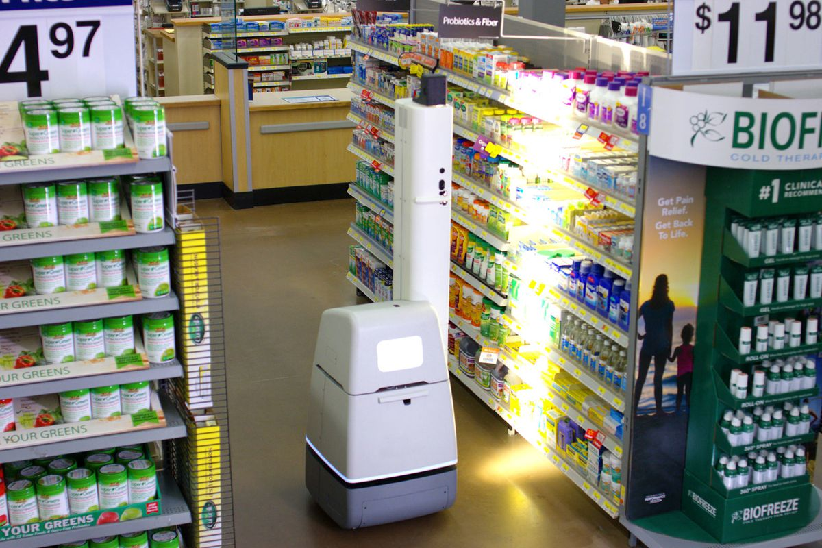 Walmart is using shelf-scanning robots to audit its stores - The Verge