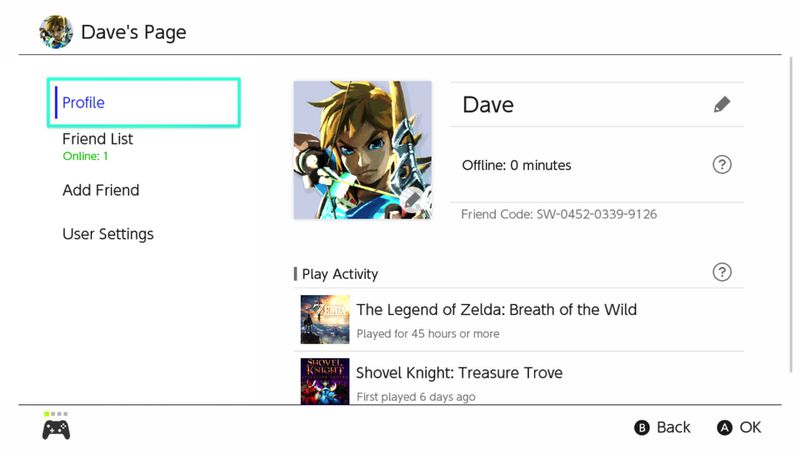 The Nintendo Switch actually does have an activity log - Polygon