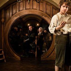 "Martin Freeman as Bilbo Baggins in ""The Hobbit: An Unexpected Journey."""