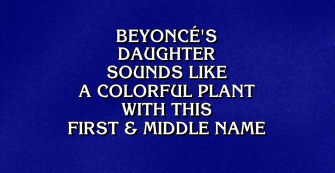 Beyoncé Was a Jeopardy Category And One Nerd Couldn't Hack It - Racked