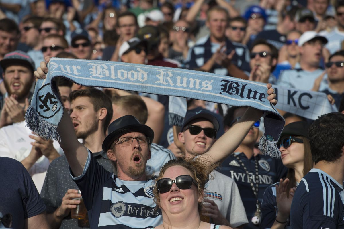 Hundreds of fans traveled to support Sporting Kansas City at Colorado