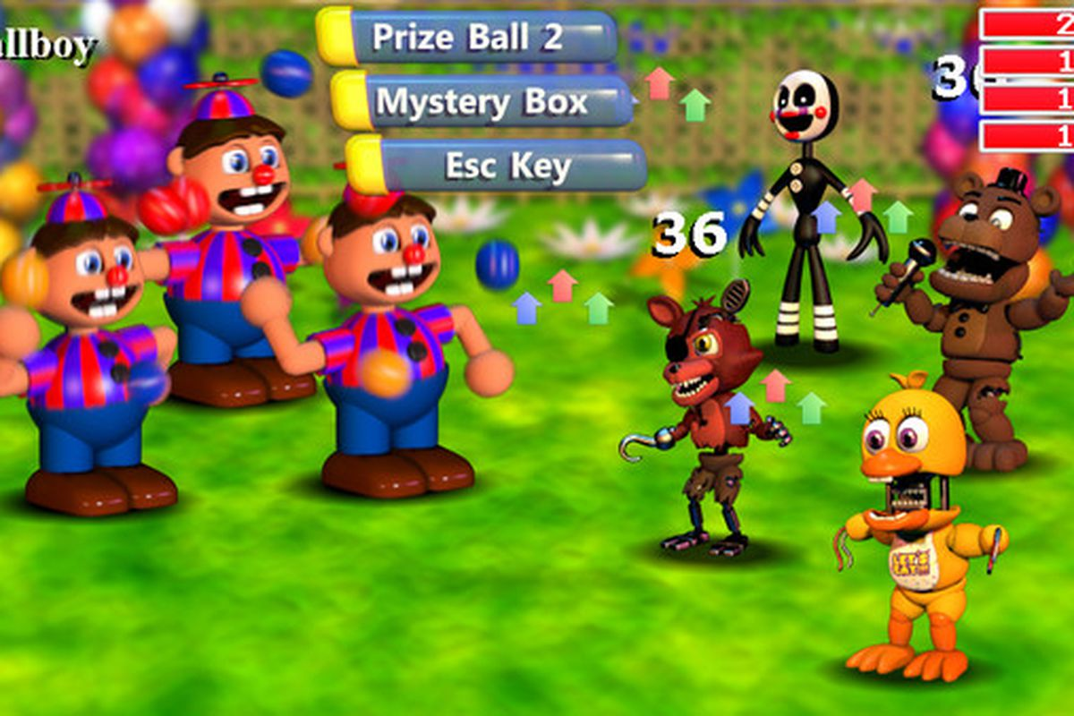 five nights at freddy s world out early now available on steam