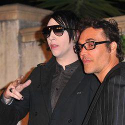Marilyn Manson and David LaChapelle