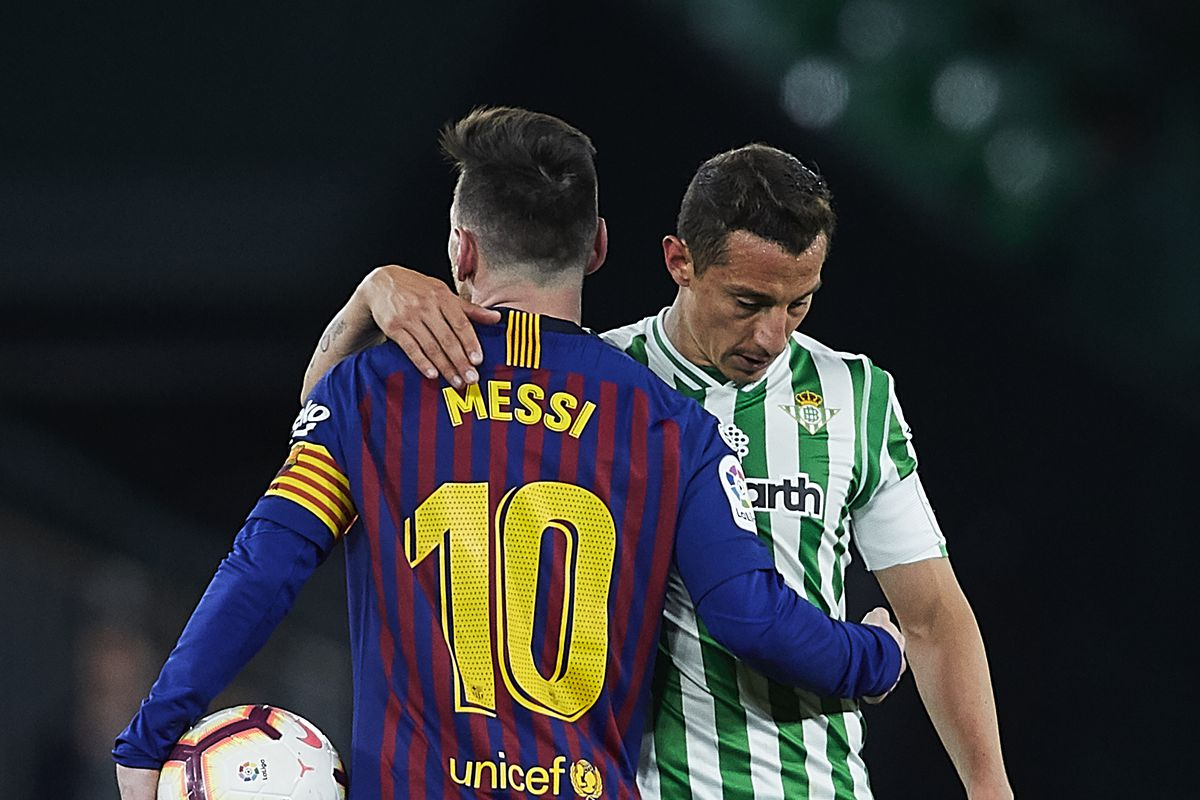 Real Betis tell Lionel Messi not to rush back from injury