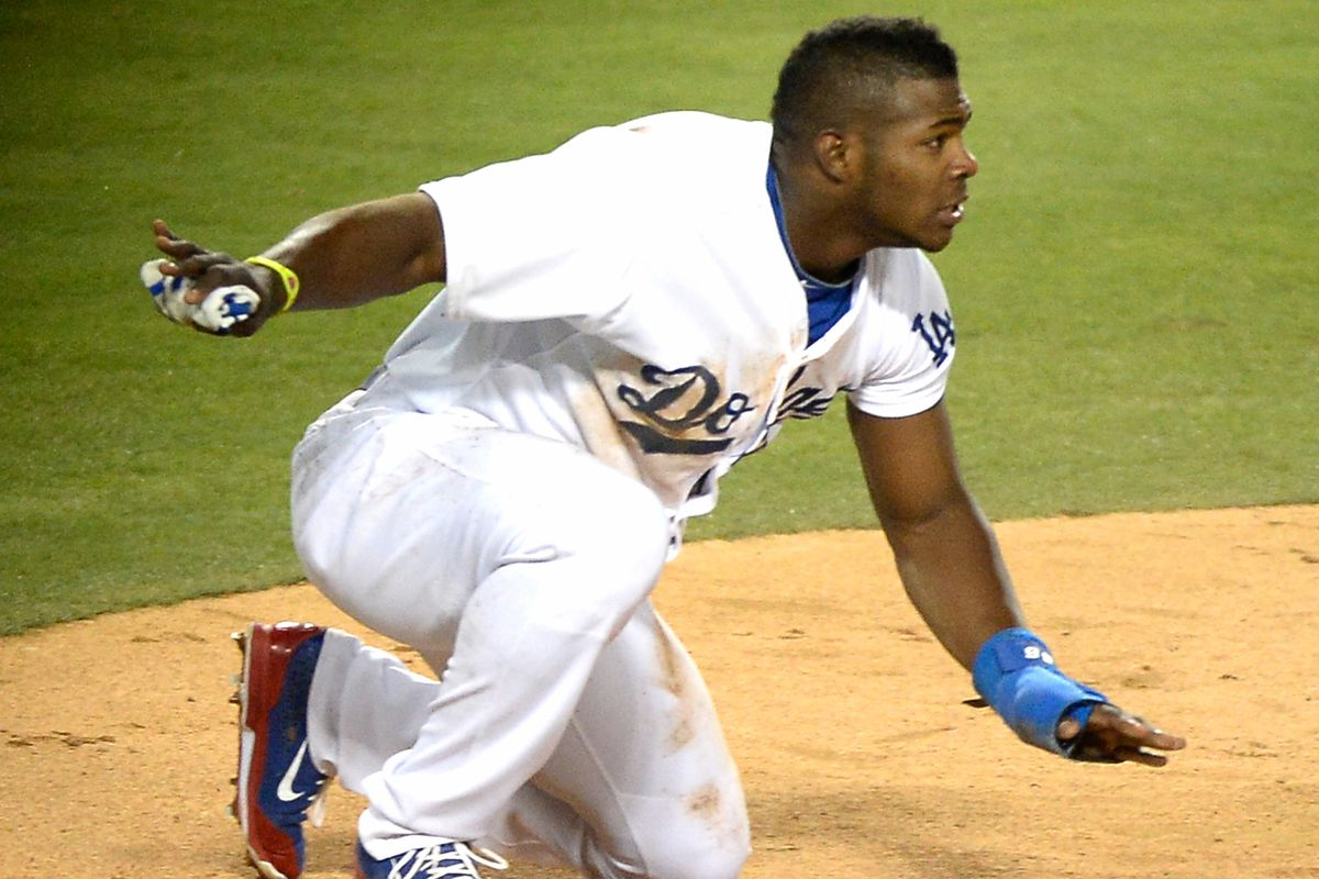 The 11th triple play in Mets history was brought to you by Yasiel Puig.