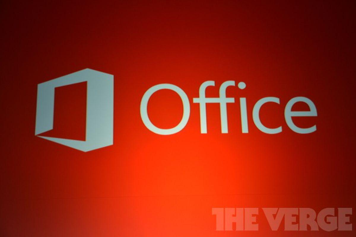 Microsoft Office 2013 logo stock