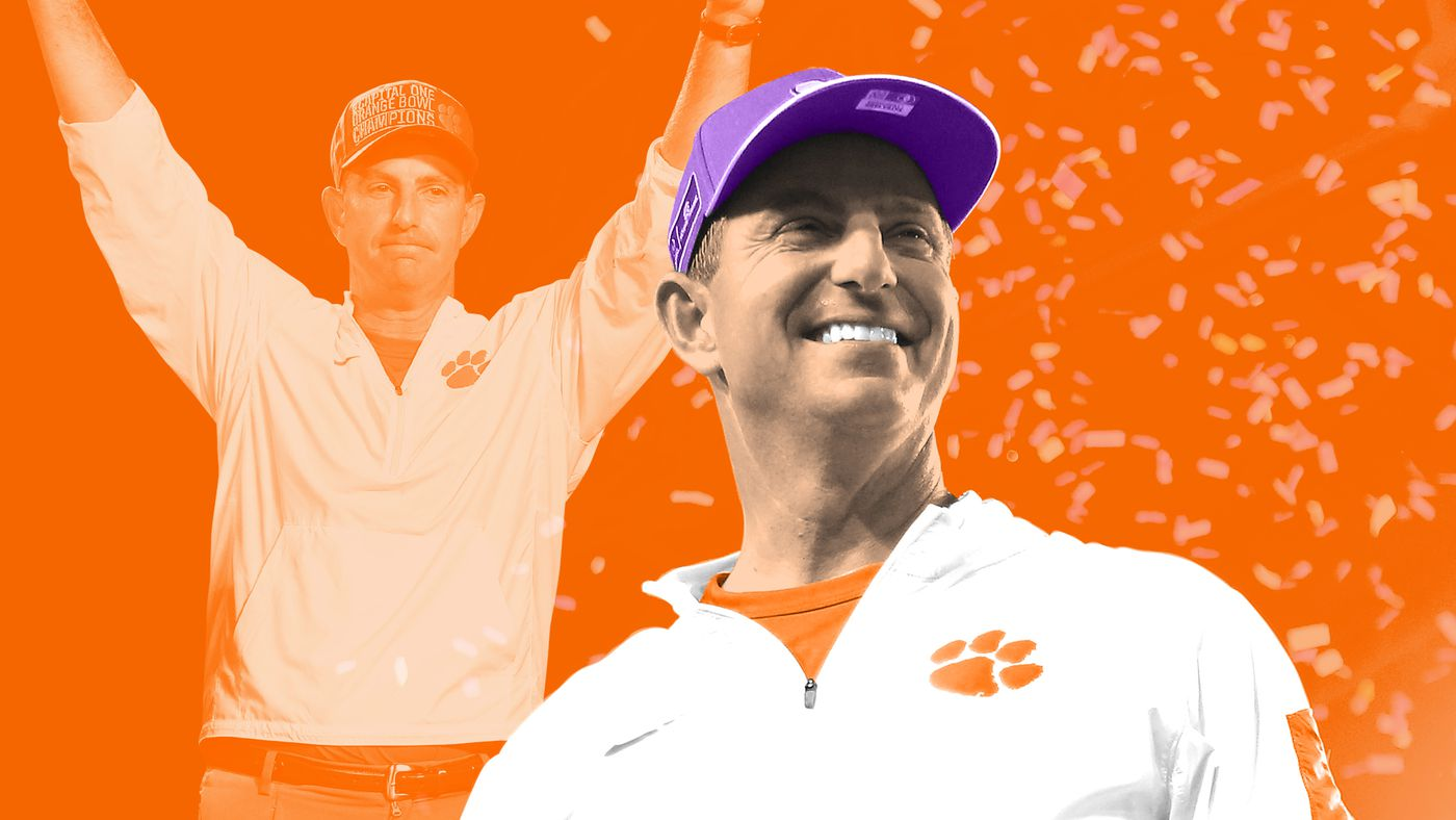 Dabo Swinney Grabs the Belt