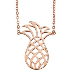 """<b>Samantha Faye</b> Pineapple in Rose Gold Plate, <a href=""""http://www.exhalespa.com/"""">$68</a> at Exhale Spa"""