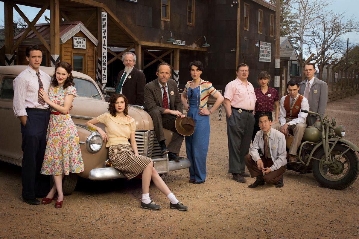The cast of Manhattan
