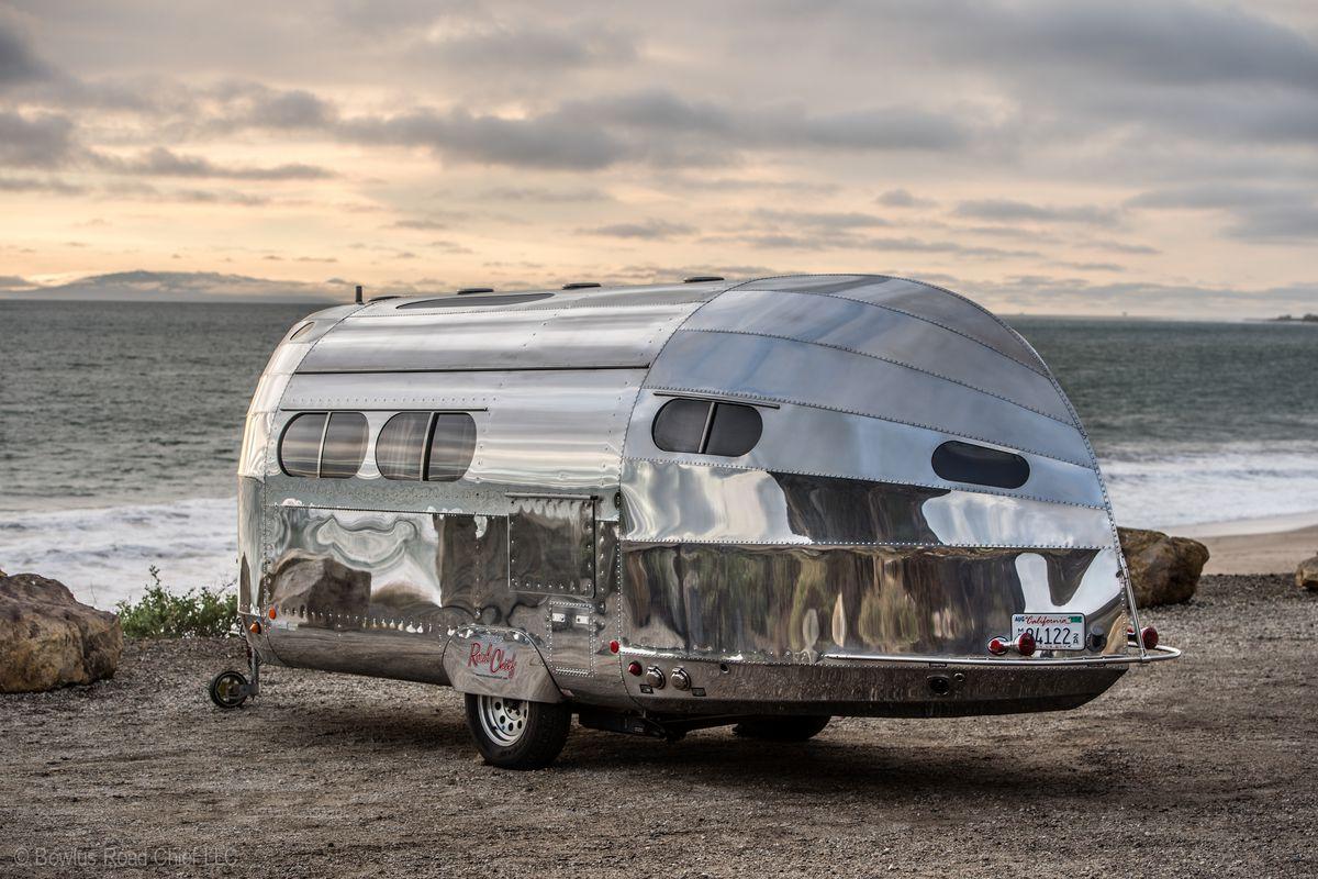 Bowlus Road Chief S Aluminum Travel Trailer Can Go Off