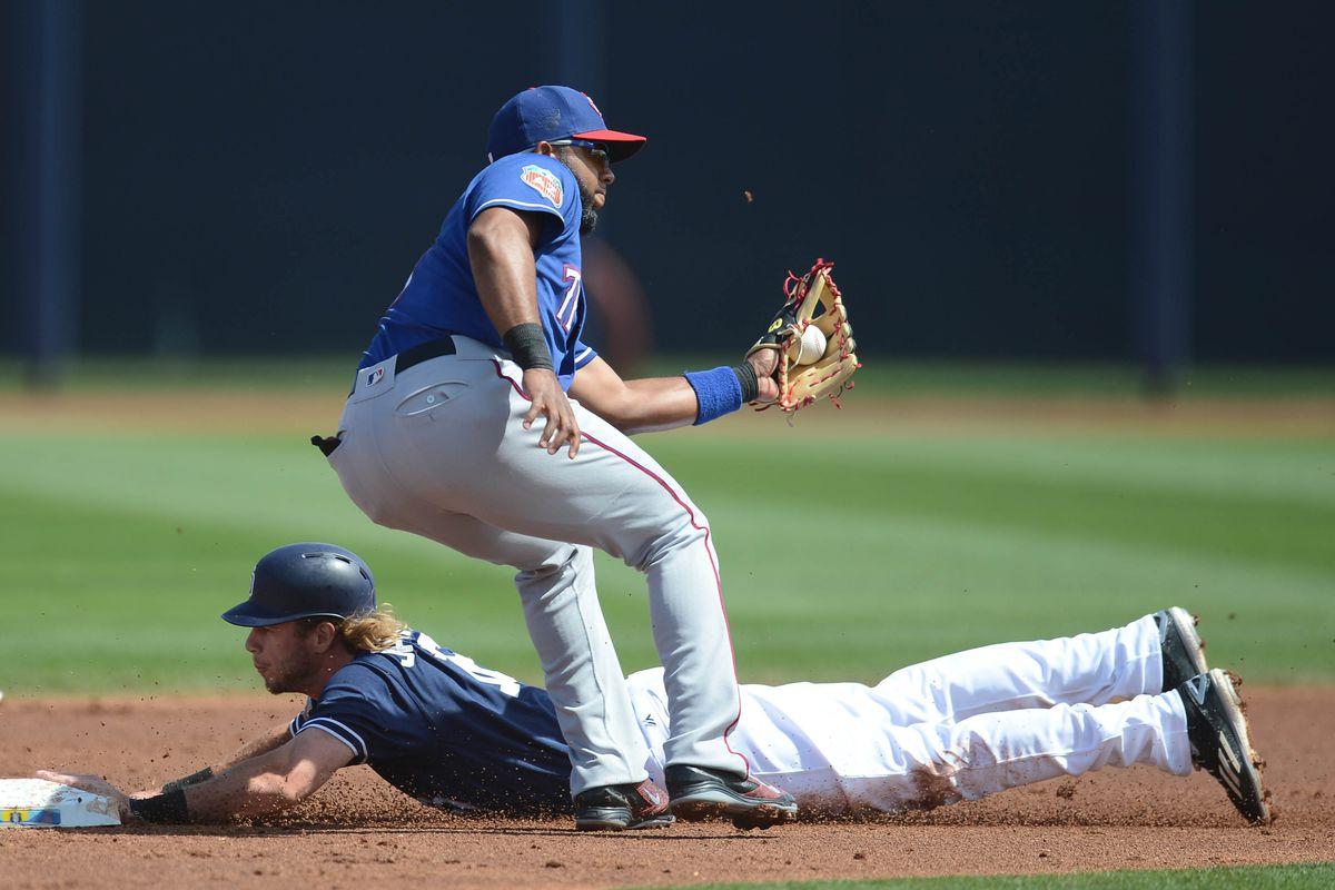 MLB: Spring Training-Texas Rangers at San Diego Padres