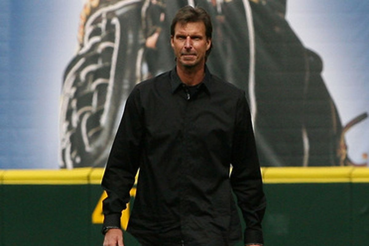 once again I don't have any new pictures so here's a picture of Randy Johnson in April 2010