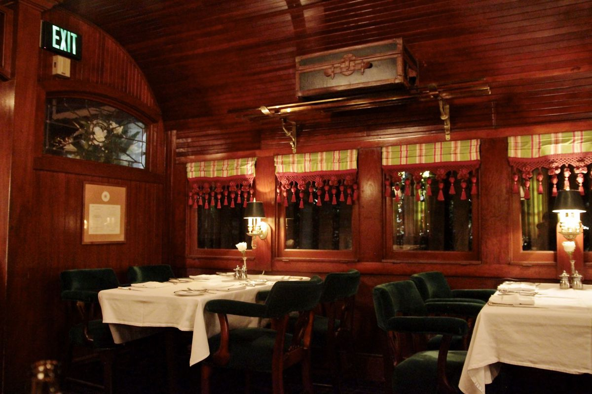 La S Fancy All Night Restaurant Pacific Dining Car Will Serve Anyone Eater La
