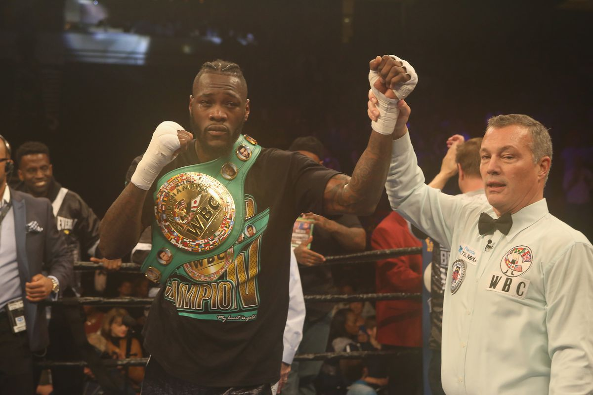 WBC heavyweight champ Deontay Wilder charged with marijuana possession