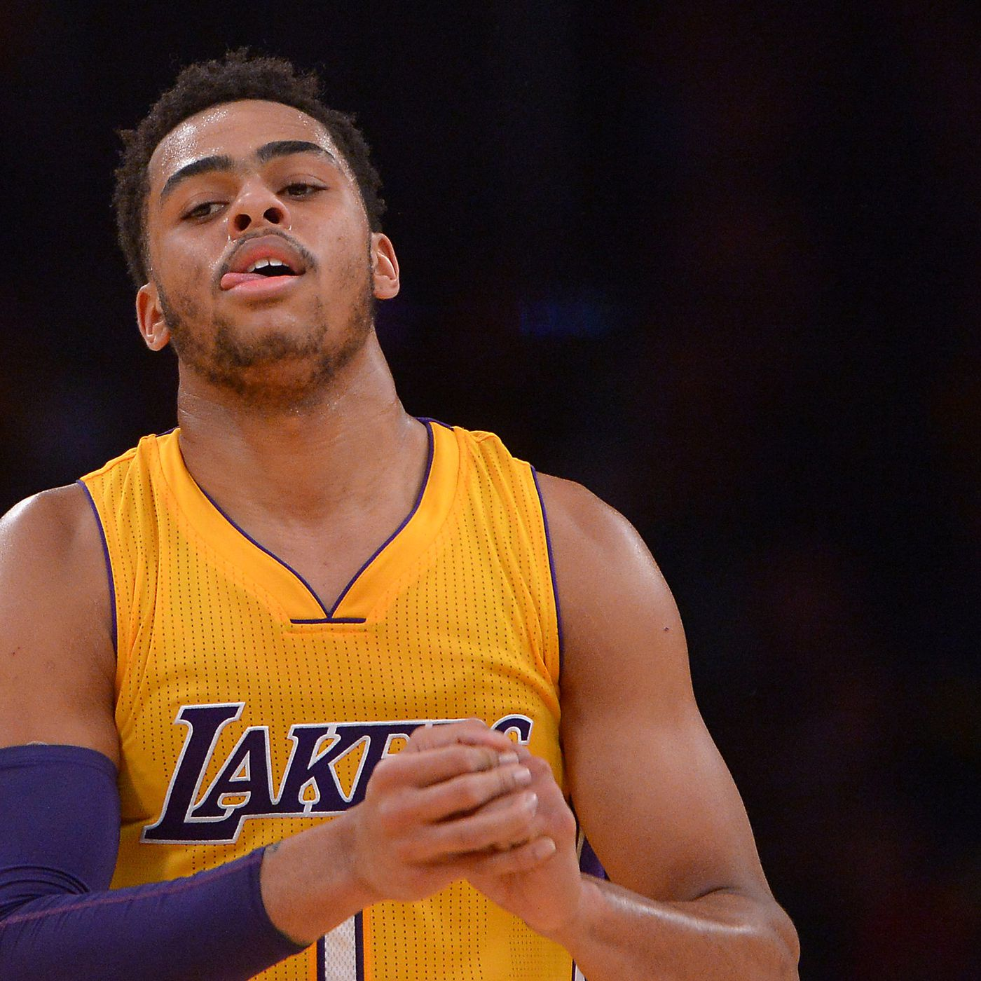 d53a56942 The D Angelo Russell vs. Nick Young feud