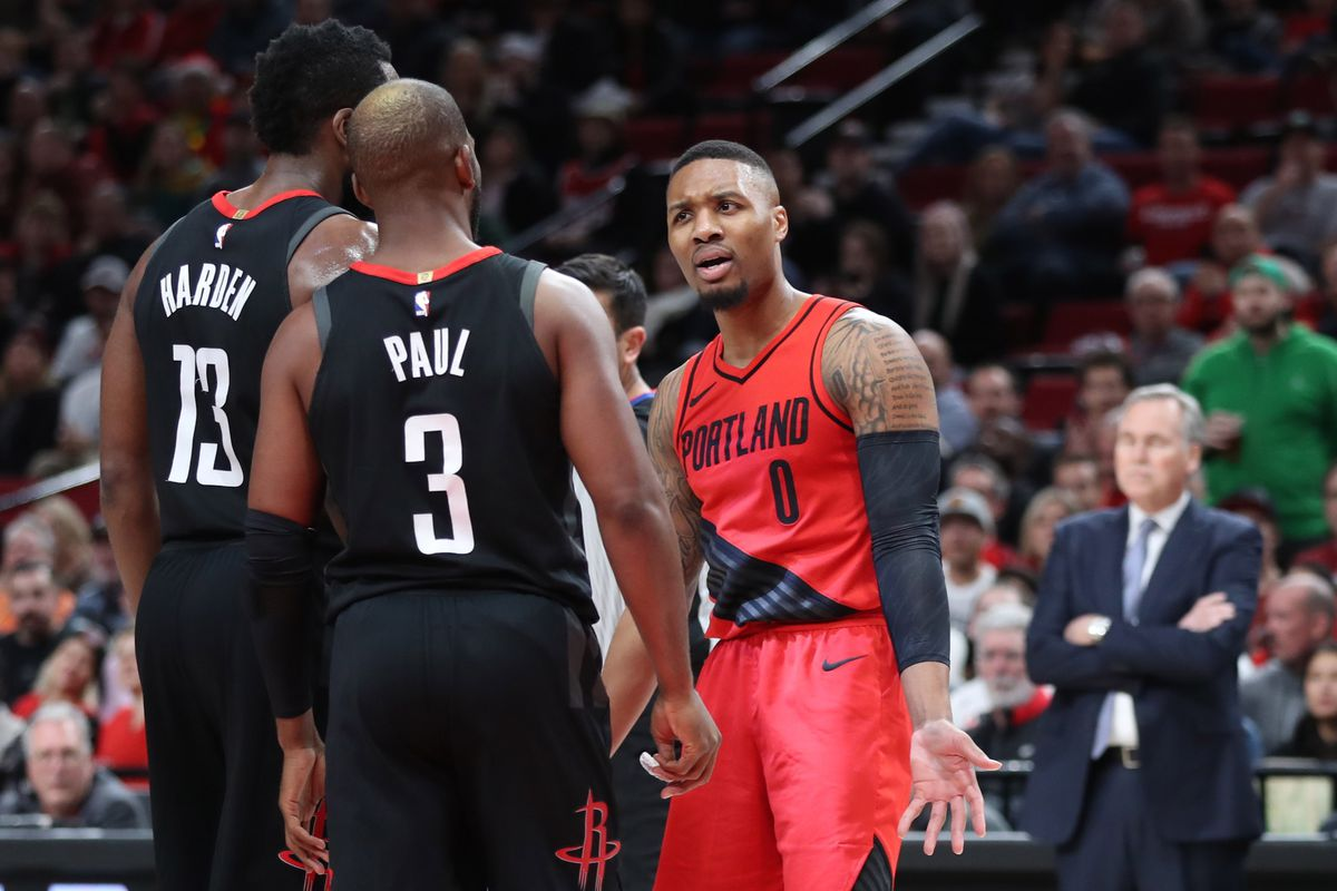 Leading Rockets Snap Portland's 13-Game Winning Streak