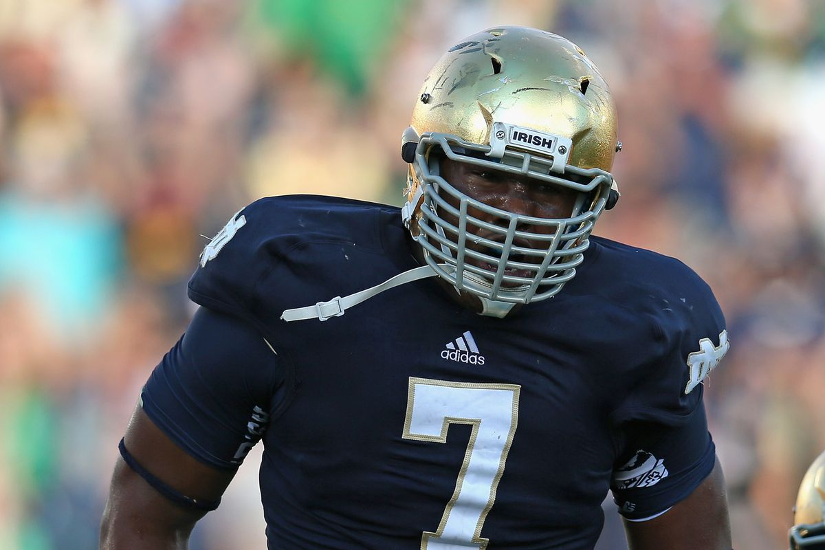 Stephon Tuitt is who Mocking the Draft has Baltimore taking in the second round in its latest mock.