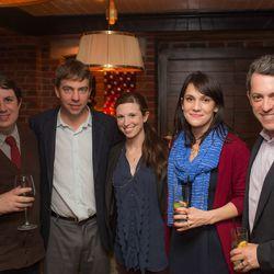 Eater's Greg Morabito, Lockhart Steele, Jen Leibow, Amanda Kludt and Jim Bankoff.