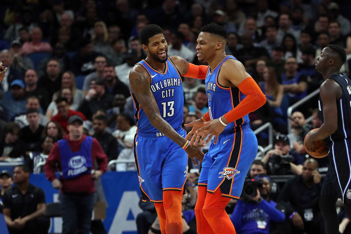 4a29de5fc89 Russell Westbrook joins Paul George in the 2019 All-Star Game...but -  Welcome to Loud City