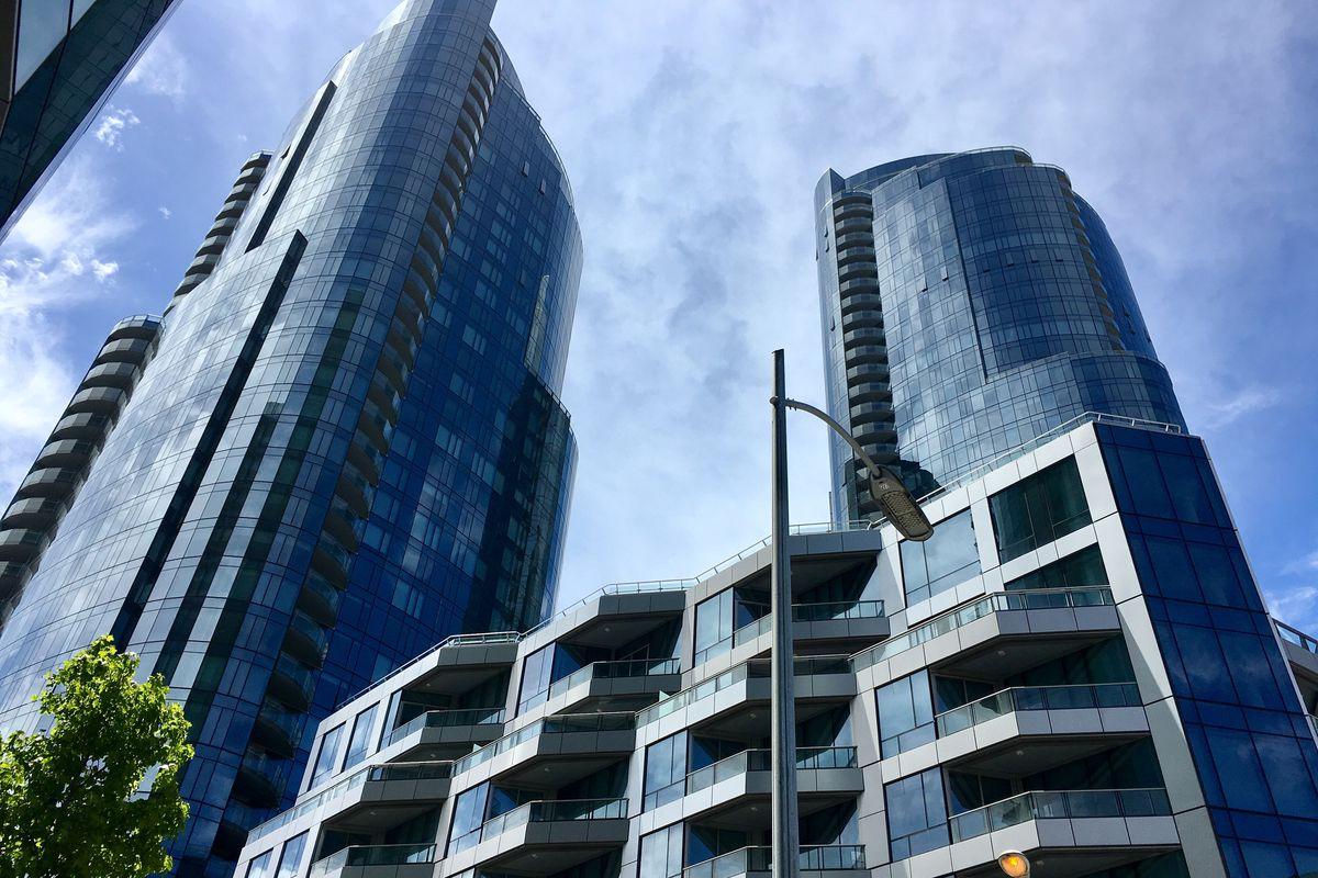 Gleaming Lumina towers, glassy and tall.
