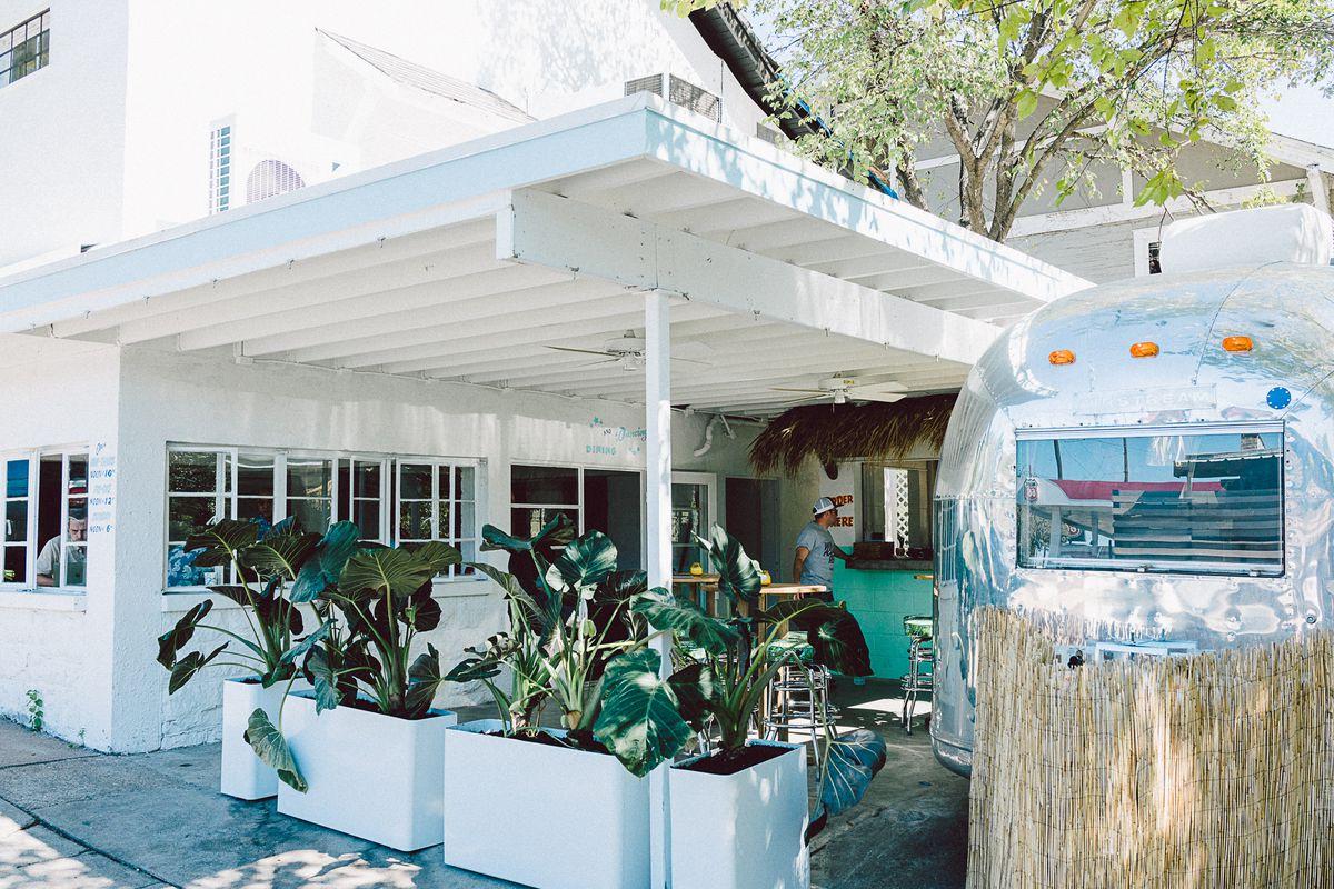 Pool Burger's yard