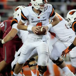Believe it or not, the only photo of Sean Mannion on a day he throws for nearly 500 yards