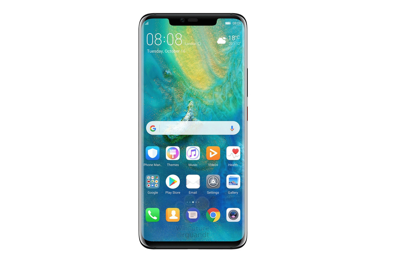 huawei s upcoming mate 20 pro flagship leaks in full
