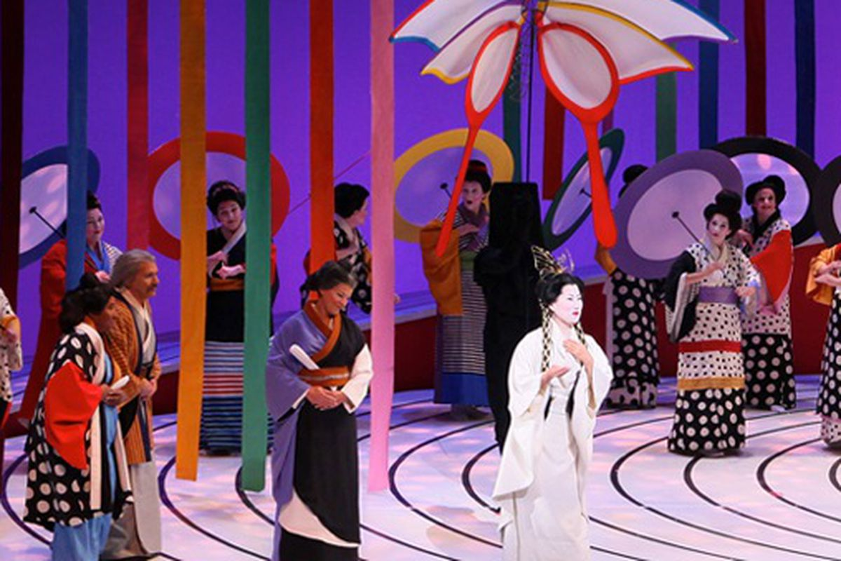 """Skip the Madame Butterfly costume rack and cultural appropriation backlash. Everything else is fair game. Photo via <a href=""""http://sfopera.com/Home.aspx"""">San Francisco Opera</a>."""