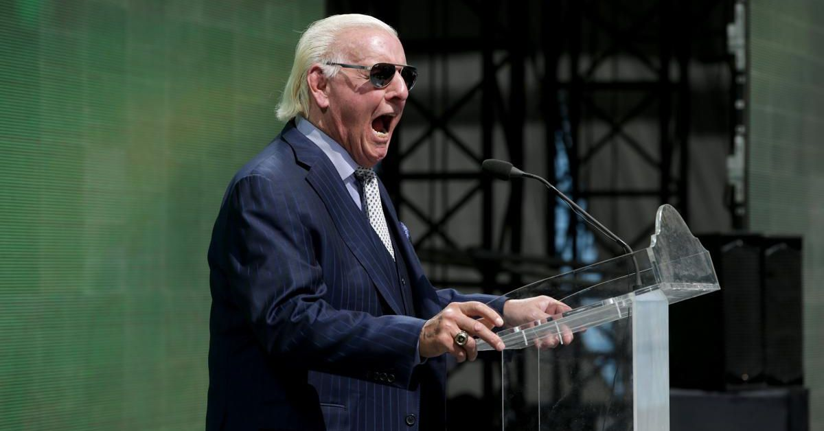 Ric Flair explains why he requested his release from WWE, capitalizes