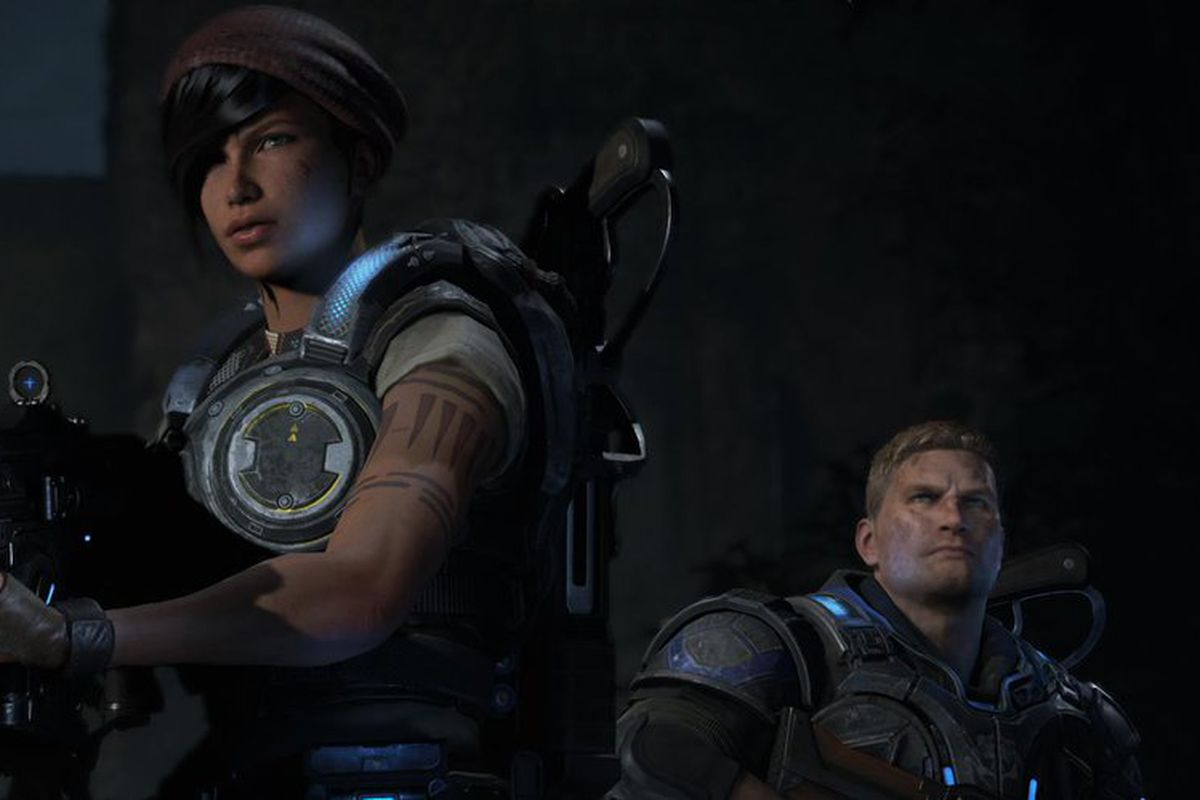 Gears Of War 4 Stars Marcus Fenix S Son In A New Cast Of