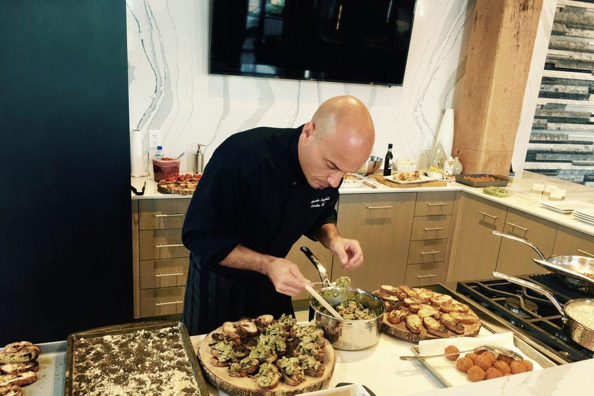 Test Kitchen Chef Former Chiaroscuro Chef Launches Contrasto Test Kitchen In