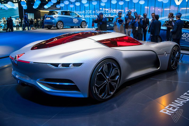 Renault Has Decided To Be Absolutist With The Materials Used In Trezor Which You Can When Re Talking About A Concept Car That S No Danger Of