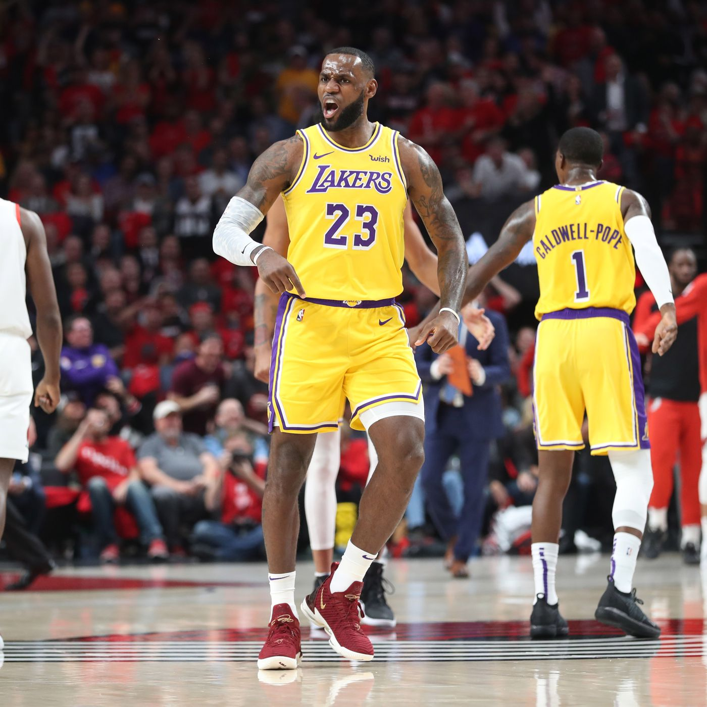 cd626ada329 LeBron James  Lakers debut  8 things to know - SBNation.com