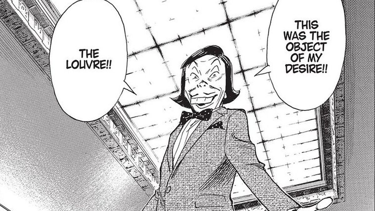 A character in Naoki Urasawa's Mujirushi