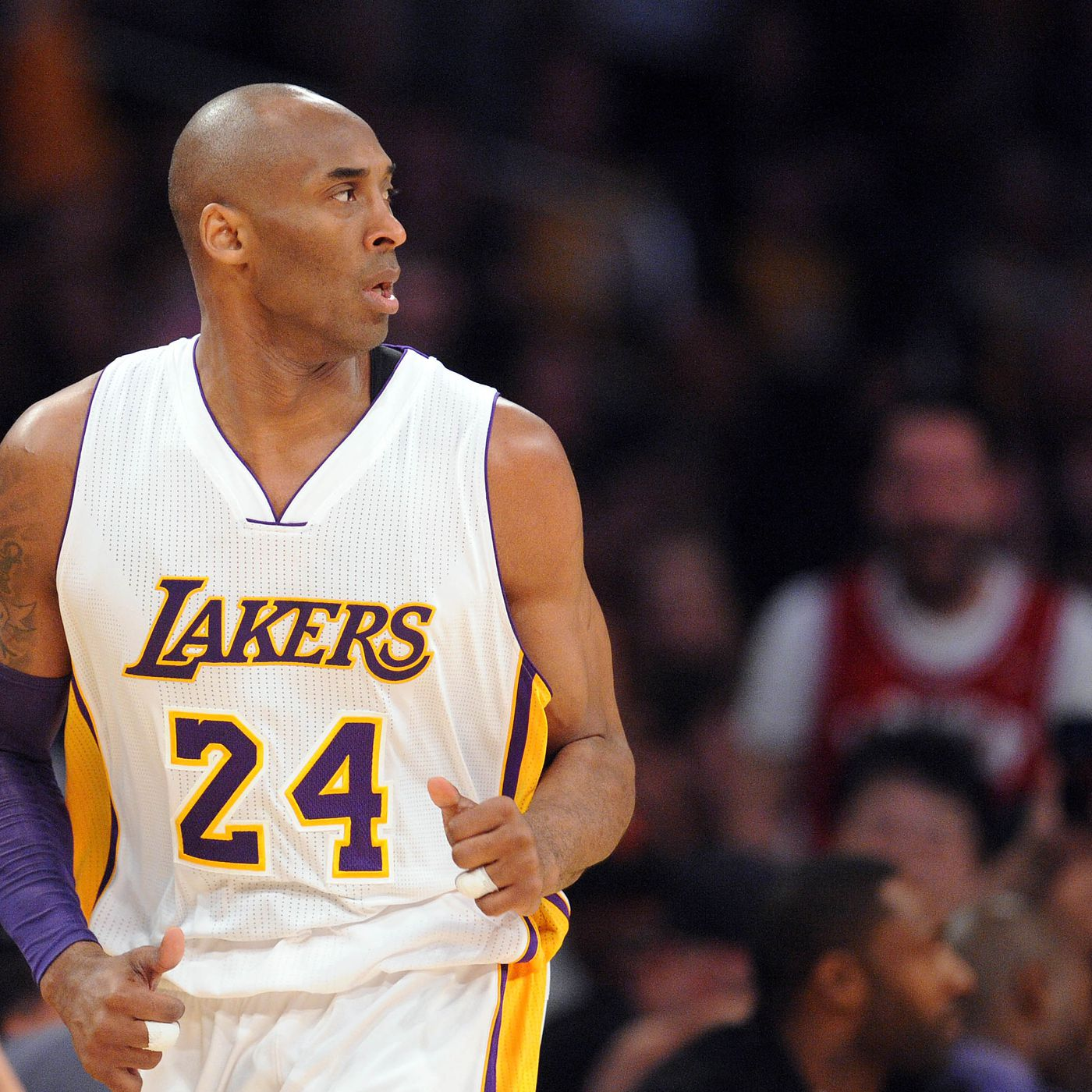 7c8b820c6eed Kobe Bryant isn t sure if the Lakers  next franchise player is on their  roster yet