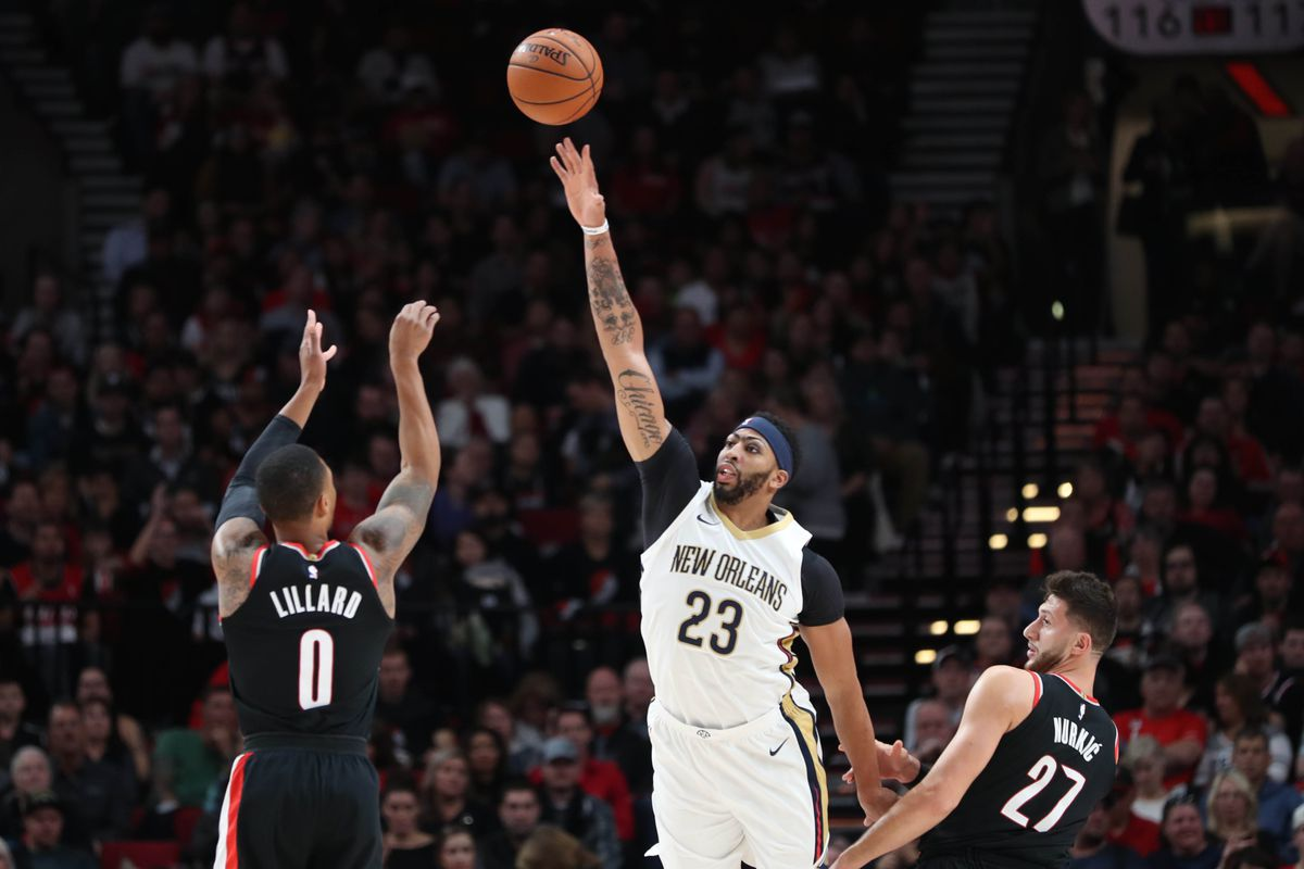 NBA Playoffs Trail Blazers Vs. Pelicans Game 1 Preview - Blazeru0026#39;s Edge