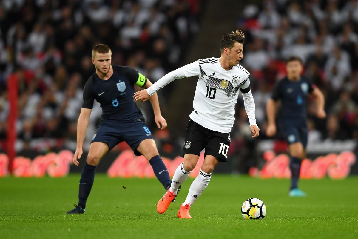 Stats Viz Mesut –zil runs the show against England The Short Fuse