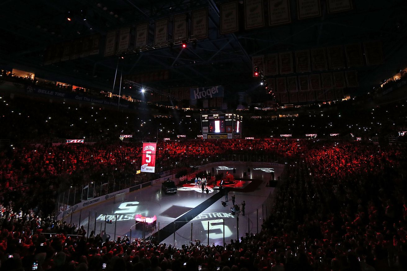 nicklas lidstrom originally wanted no 9 when he arrived in detroit sbnationcom