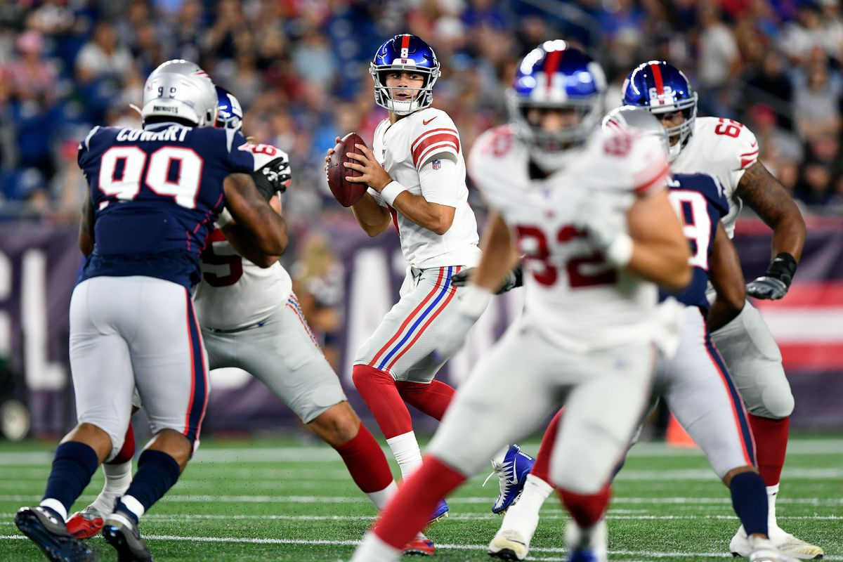Giants at Patriots, preseason Week 4: First-half live updates - Big Blue View