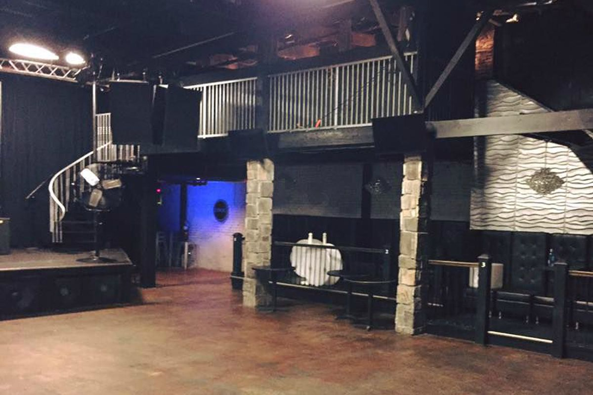 Inside the former home of Seen Nashville club.