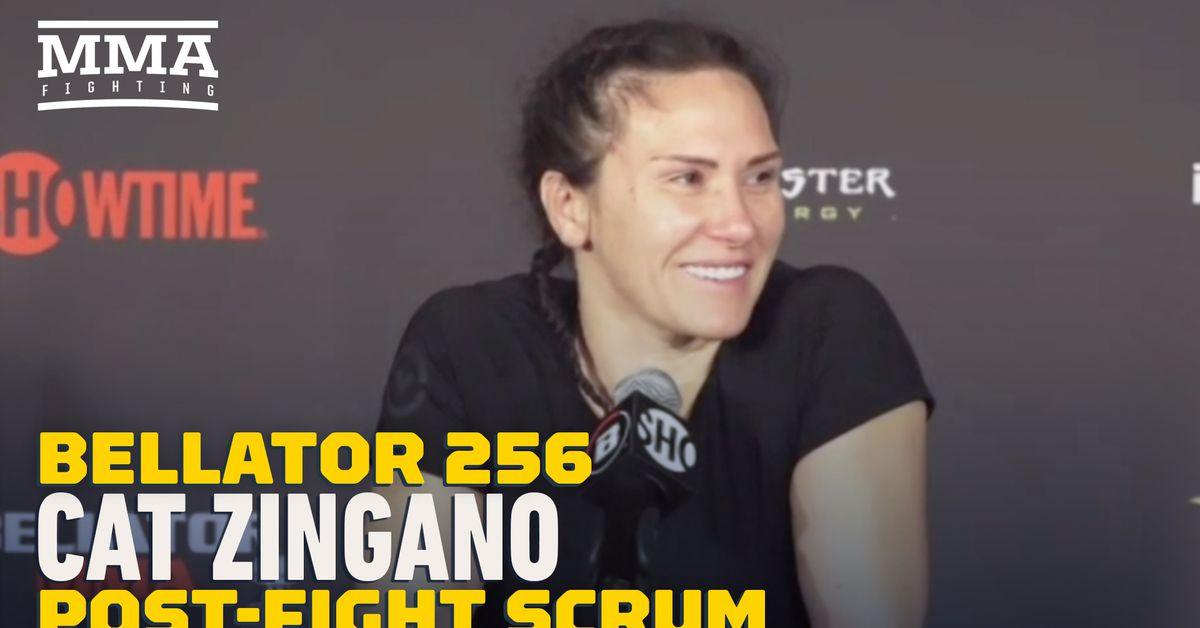 Video: Cat Zingano believes her resume justifies shot at winner of Cris Cyborg vs. Leslie Smith 2