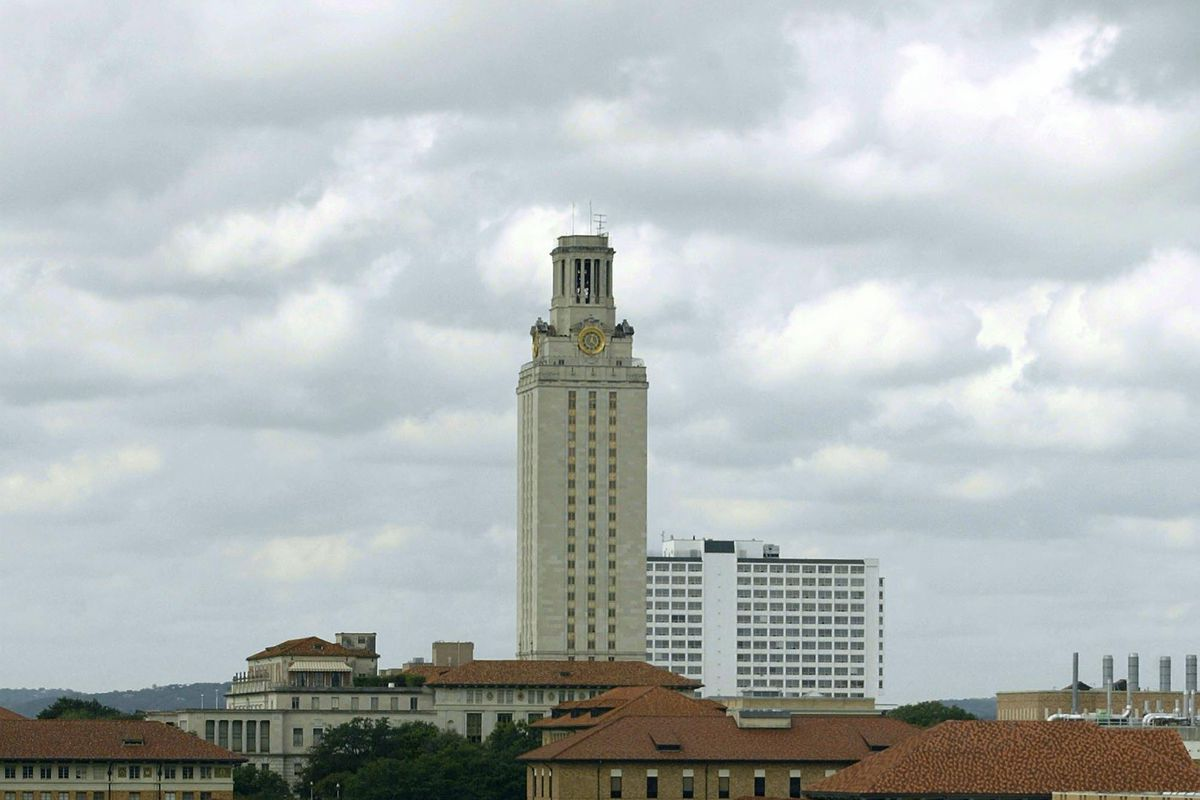 General view of Texas tower