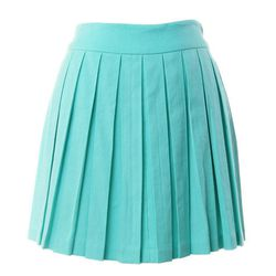 """Alice & Olivia Leah box pleat skirt, <a href=""""http://sale.cakestyle.com/collections/skirts/products/alice-olivia-leah-box-pleat-skirt"""">$125</a> (was $275)"""