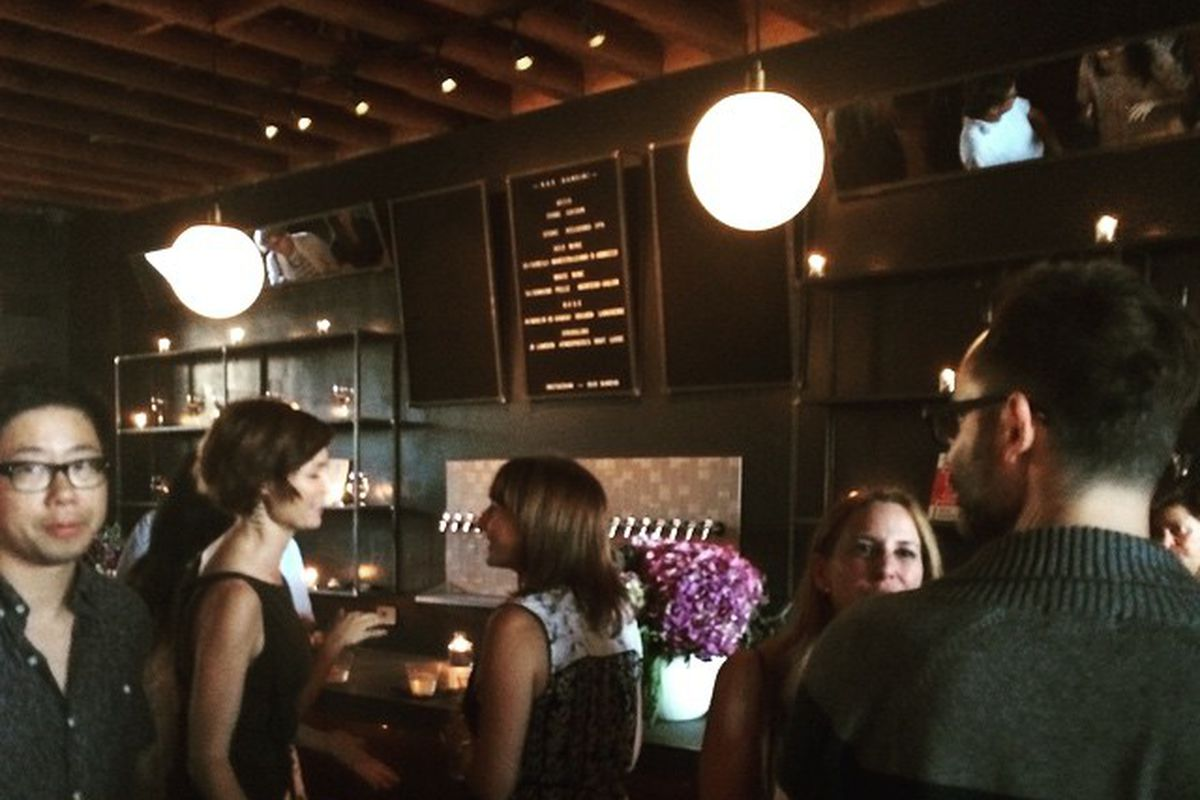 Inside Bar Bandini, Echo Park
