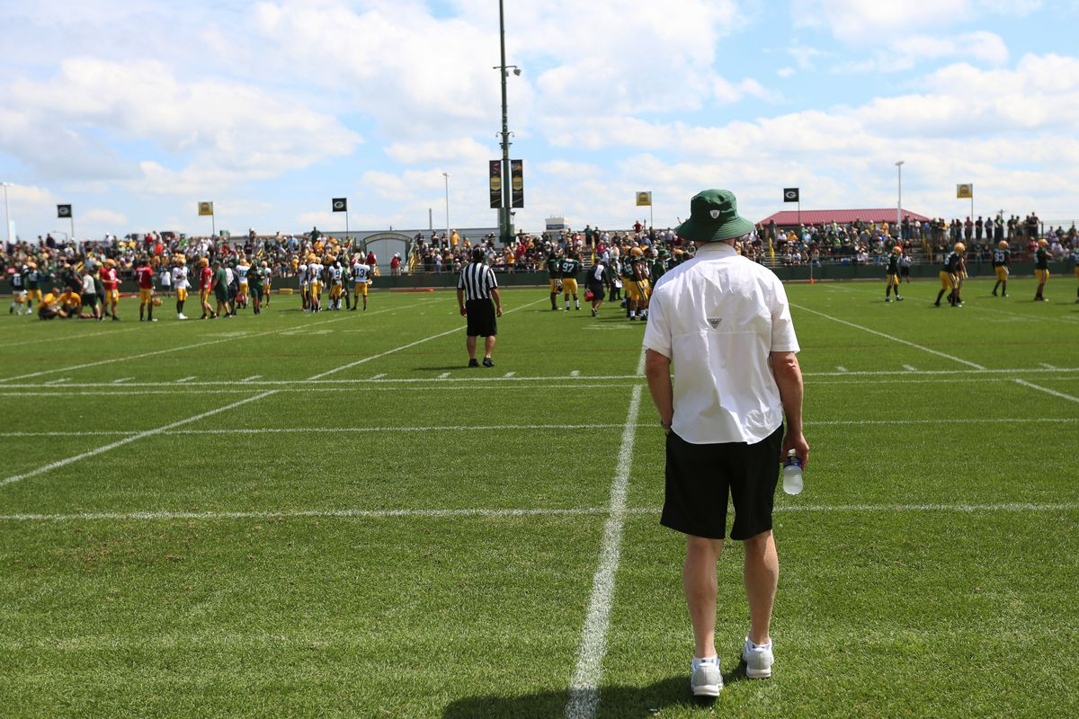 NFL: AUG 16 Packers Training Camp